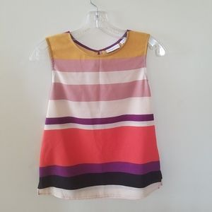 Liz Claiborne striped tank top small